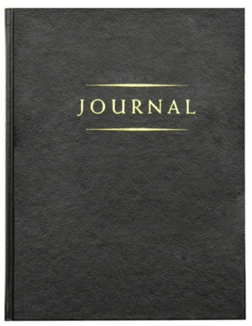 Classic Journal Large Black