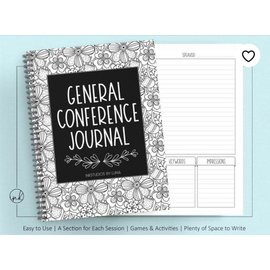 October Conference Journal, 118 pages (8.5x11) Wire Bound