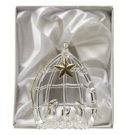 HEAV Boxed Glass Nativity