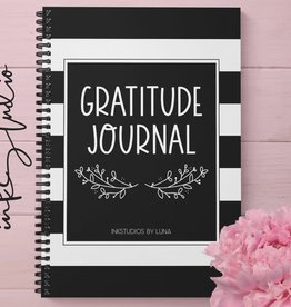 Gratitude Journal (with bonus cards and prints to frame)