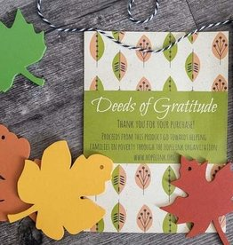 New Tradition Crafts Deeds of Gratitude Activity