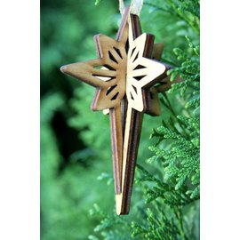New Tradition Crafts Wooden Ornaments - STAR