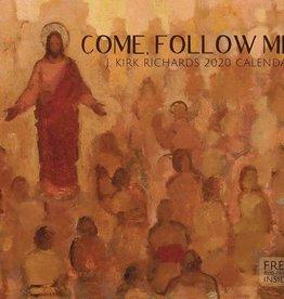 Altus fine art 2020 J. Kirk Richards Calendar - Come, Follow Me