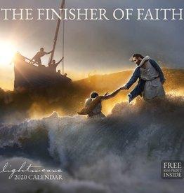 Altus fine art PRE ORDER 2020 Lightweave Calendar - The Finisher of Faith