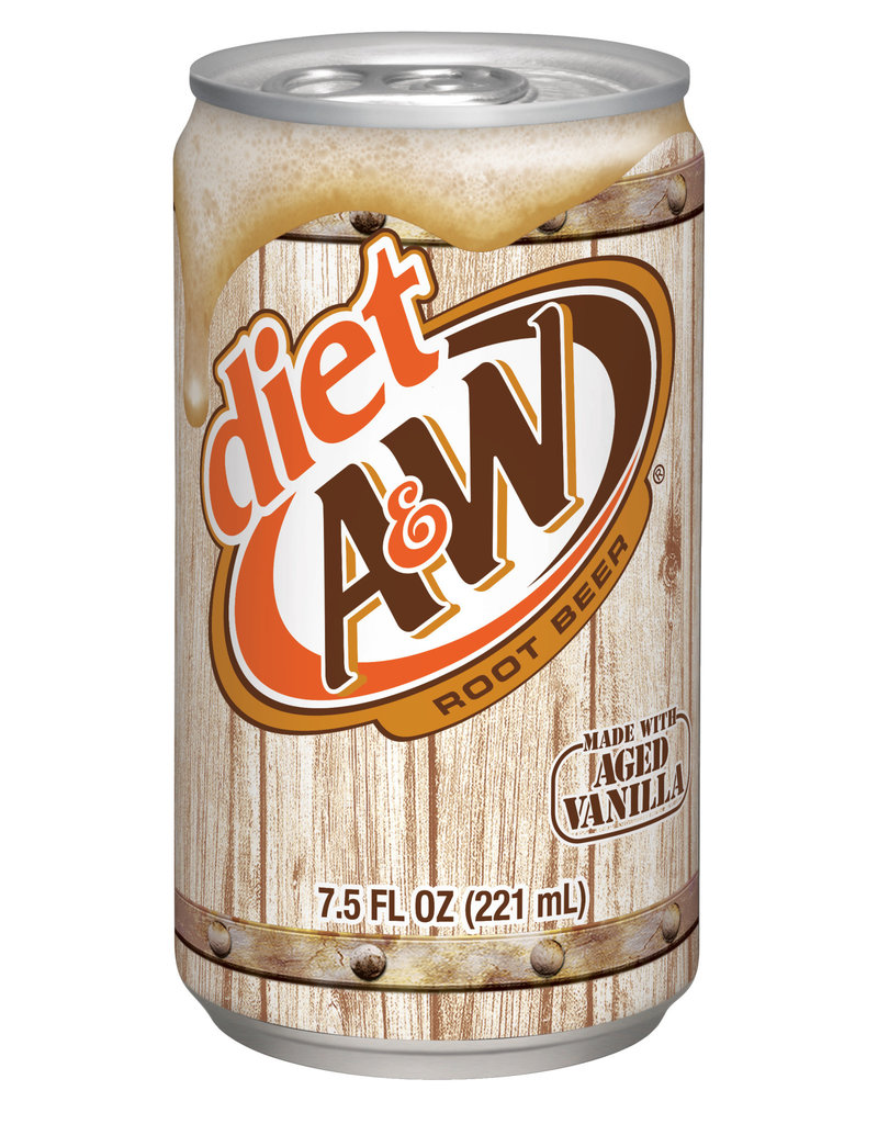 Diet A&W Rootbeer Individual Can