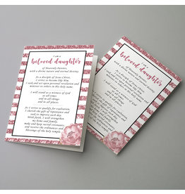 Young Women New Theme (A5 Card & Envelope) - Pink Sparkle