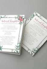 Young Women New Theme (A5 Card & Envelope) - Rose Garden
