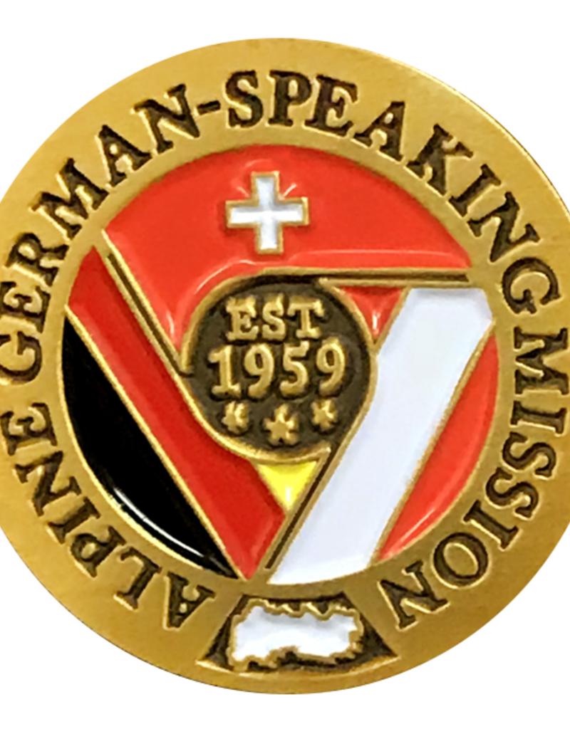 Bennet Brands Alpine German-Speaking Mission - Lapel Pin
