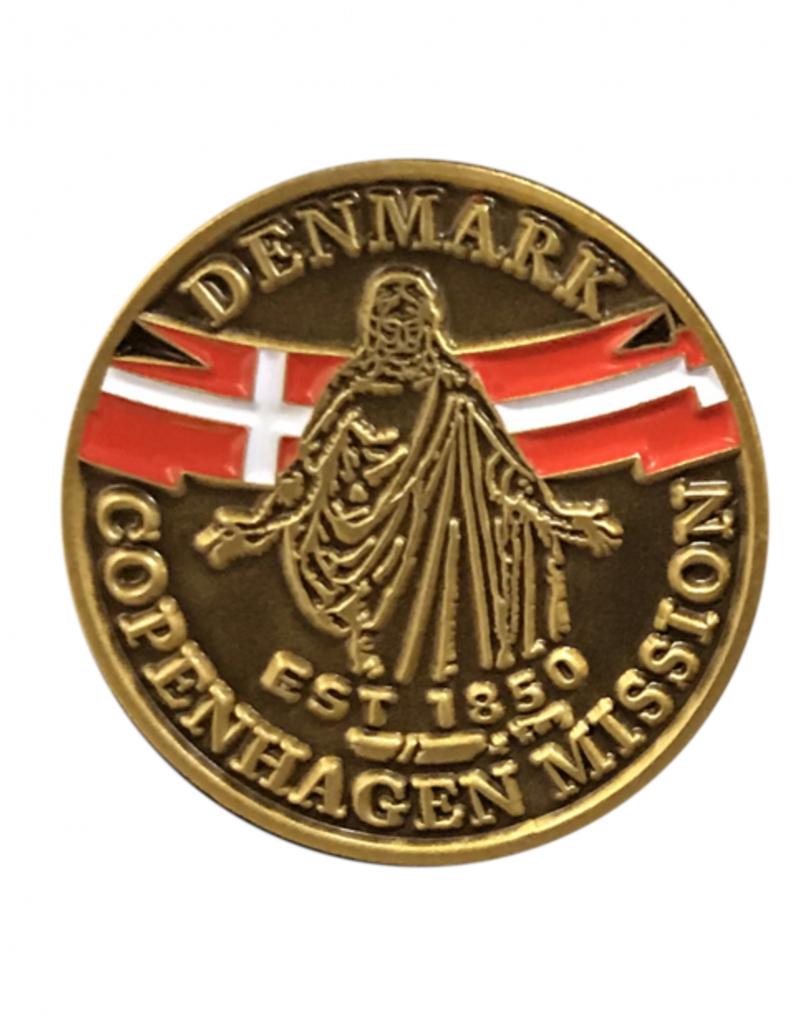 Bennet Brands Denmark Copenhagen Mission - Lapel Pin