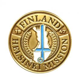 Bennet Brands Finland Helsinki Mission - Lapel Pin