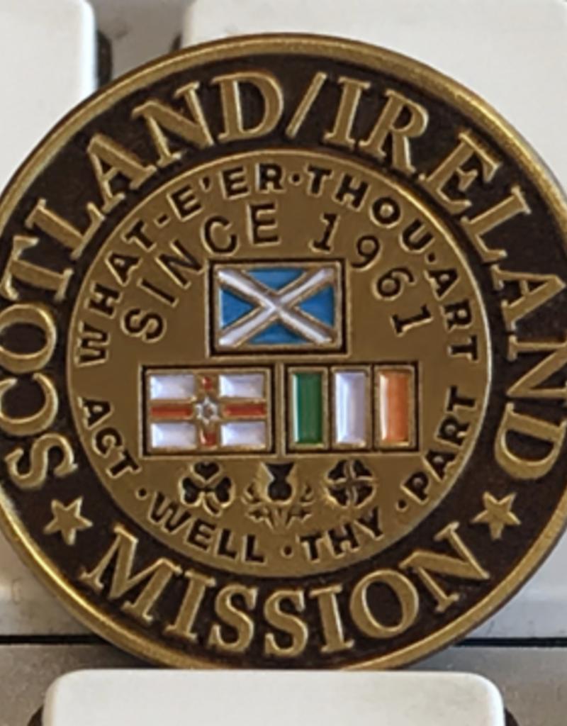 Bennet Brands Scotland Ireland Mission - Lapel Pin