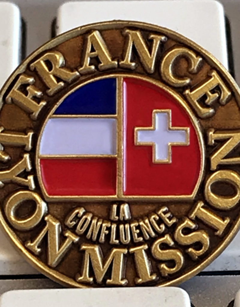 Bennet Brands France Lyon Mission - Lapel Pin