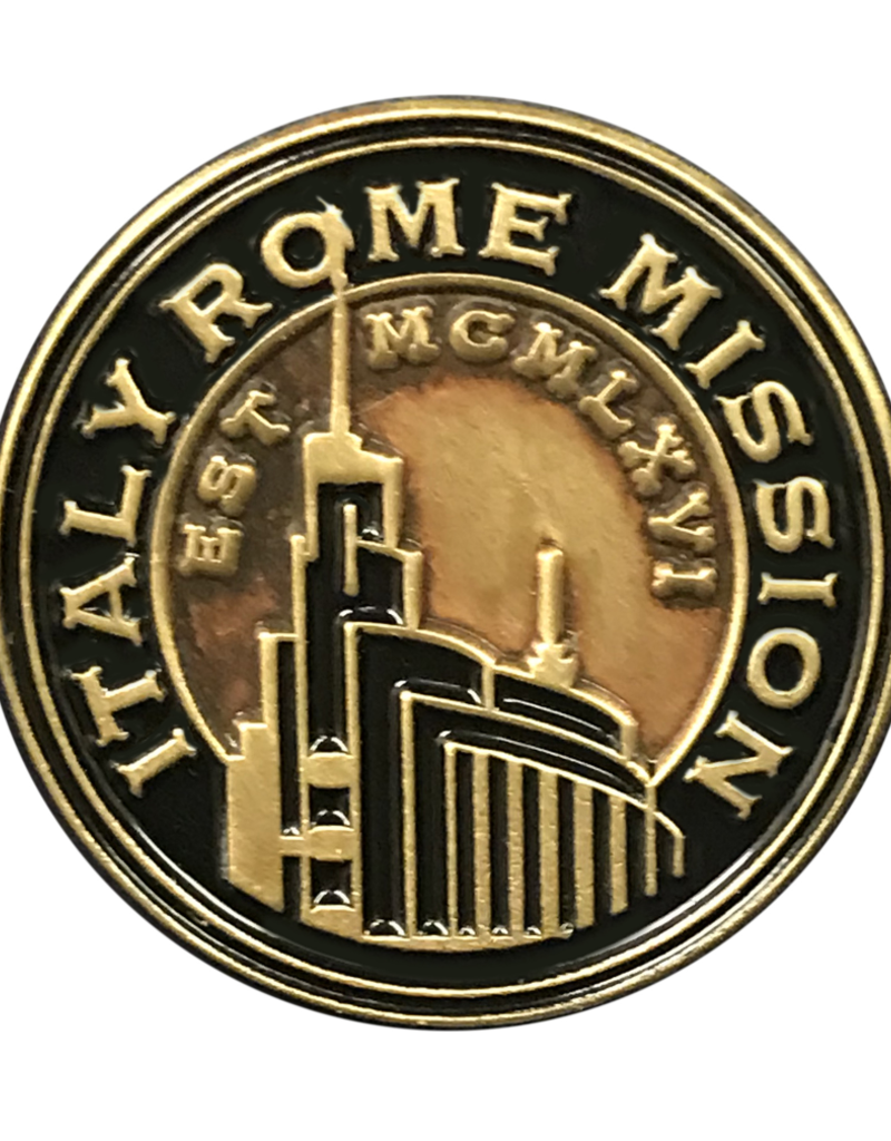 Bennet Brands Italy Rome Mission - Lapel Pin