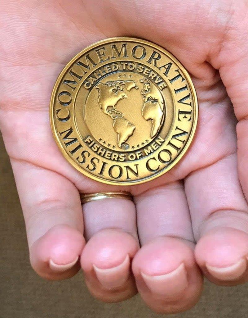 Bennet Brands Belguim Netherlands Mission - Commemorative Coin