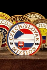 Bennet Brands Czech Slovak Mission - Commemorative Coin