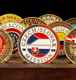 Bennet Brands Czech Slovak Mission - Commemorative Coin