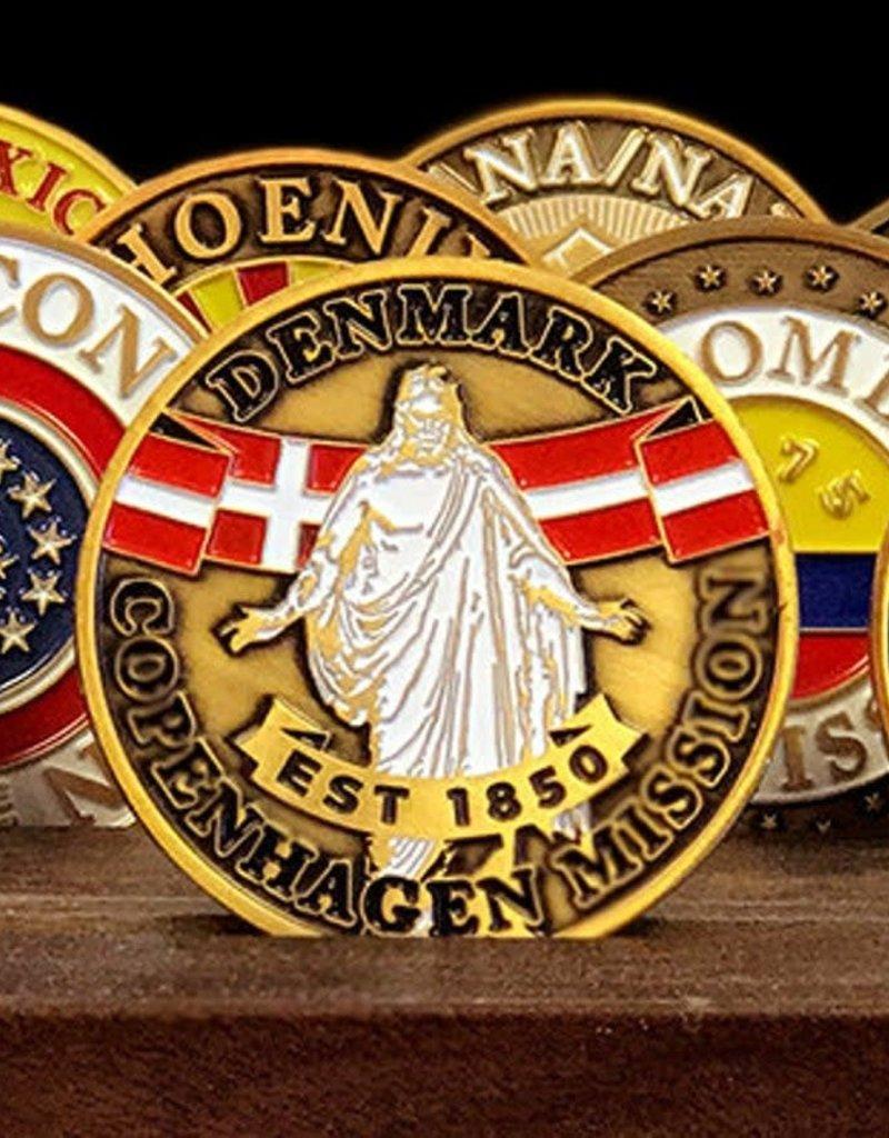 Bennet Brands Denmark Copenhagen Mission - Commemorative Coin