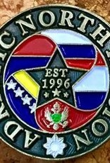 Bennet Brands Adriatic North Mission - Lapel Pin