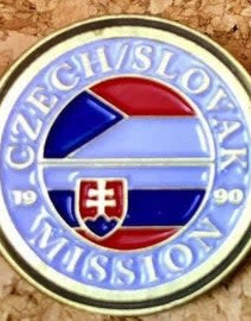 Bennet Brands Czech Slovak Mission - Lapel Pin