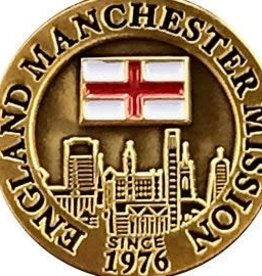 Bennet Brands England Manchester Mission - Lapel Pin