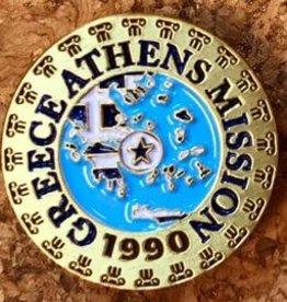 Bennet Brands Greece Athens Mission - Lapel Pin