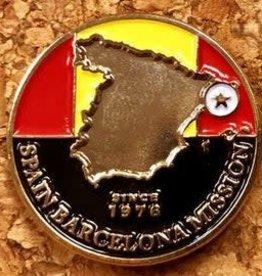 Bennet Brands Spain Barcelona Mission - Lapel Pin