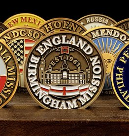 Bennet Brands England Birmingham Mission - Commemorative Coin