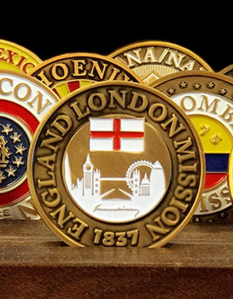 Bennet Brands England London Mission - Commemorative Coin