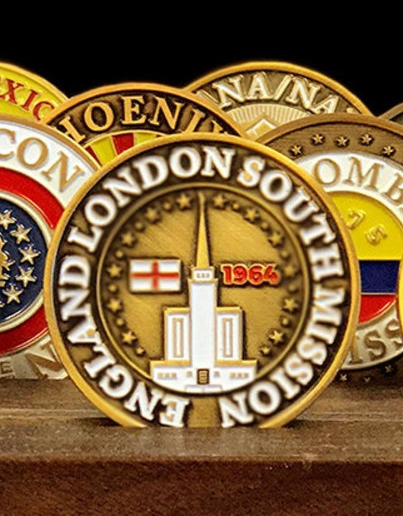 Bennet Brands England London South Mission - Commemorative Coin