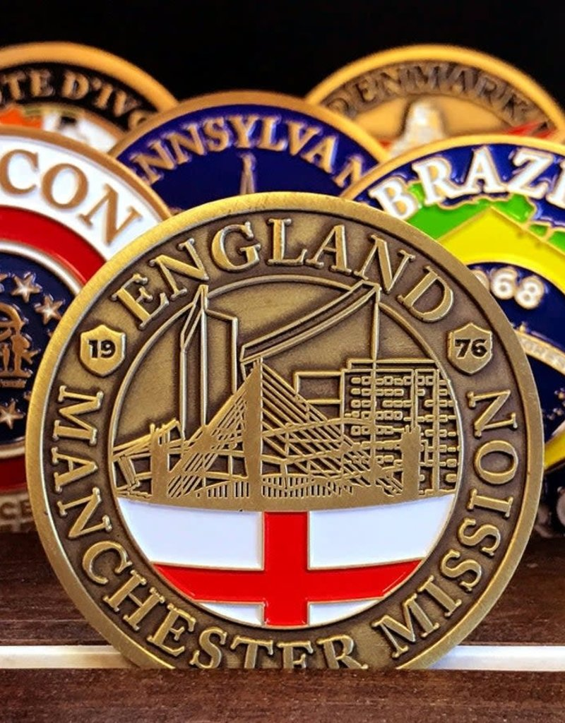 Bennet Brands England Manchester Mission - Commemorative Coin