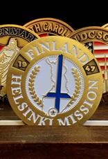 Bennet Brands Finland Helsinki Mission - Commemorative Coin