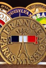 Bennet Brands France Paris Mission - Commemorative Coin