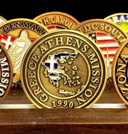 Bennet Brands Greece Athens Mission - Commemorative Coin