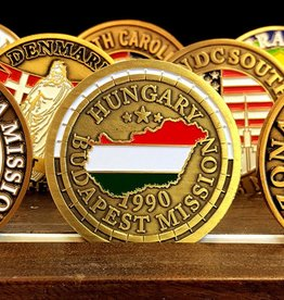 Bennet Brands Hungary Budapest Mission - Commemorative Coin
