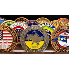 Bennet Brands Ukraine L'viv Mission - Commemorative Coin