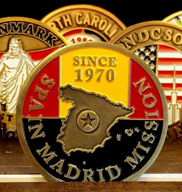 Bennet Brands Spain Madrid Mission - Commemorative Coin