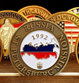 Bennet Brands Russia St. Petersburg Mission - Commemorative Coin