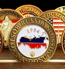 Bennet Brands Russia Rostov-Na-Donu Mission - Commemorative Coin