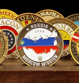 Bennet Brands Russia Moscow Mission - Commemorative Coin
