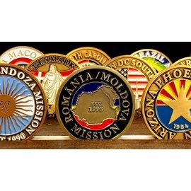 Bennet Brands Romania Moldova Mission - Commemorative Coin