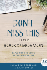 PRE ORDER Don't Miss This in the Book of Mormon Devotionals