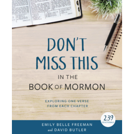 Deseret Book Company (DB) Don't Miss This in the Book of Mormon Devotionals