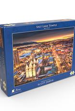 Altus fine art Salt Lake Temple Night by Scott Jarvie. Jigsaw puzzle 500 pieces