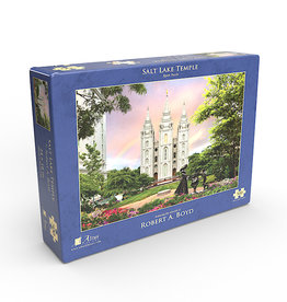 Altus fine art Salt Lake Temple by Robert A. Boyd - Jigsaw Puzzle (500 Piece)