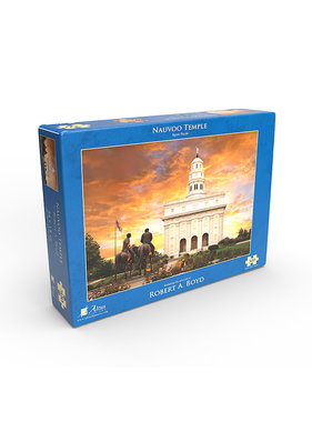 Nauvoo Temple by Robert A. Boyd - Jigsaw Puzzle (500 Pieces)
