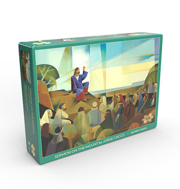 Altus fine art Sermon on the Mount by Jorge Cocco - Jigsaw Puzzle (500 Pieces)