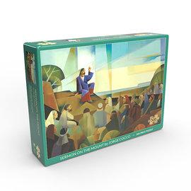 Altus fine art Sermon on the Mount by Jorge Cocco - Jigsaw Puzzle (500 Pieces)