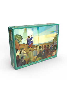 Sermon on the Mount by Jorge Cocco - Jigsaw Puzzle (500 Pieces)