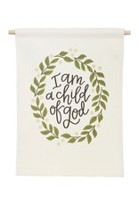 Petal Lane Banner Love I Am A Child Of God 9x12.5 Banner