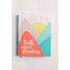 New Tradition Crafts Inspirational Journal - Faith Mountains